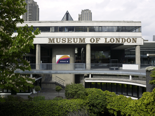 Museum of London rotunda view © Museum of London