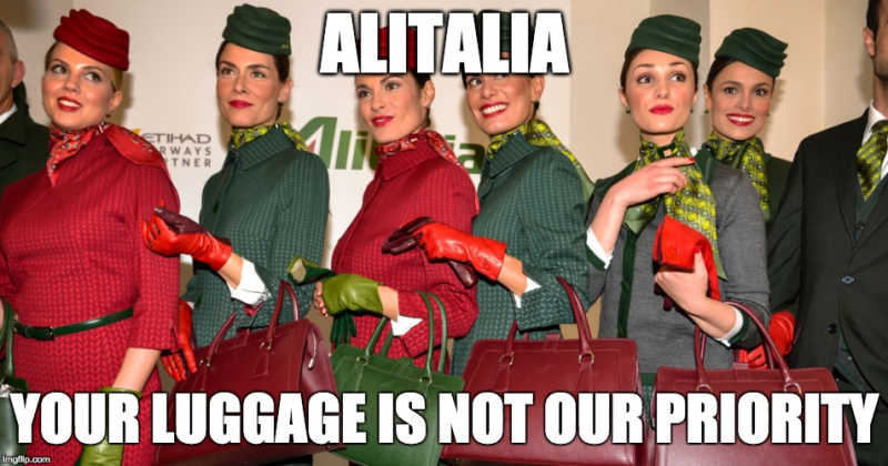 DO NOT FLY ALITALIA