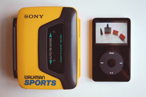 Walkman e ipod