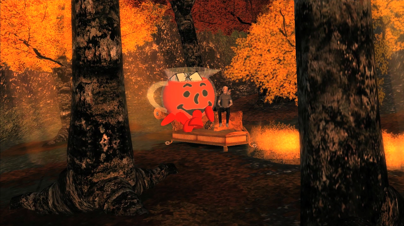 15) Jon Rafman  Kool-Aid Man in Second Life  2008-2011